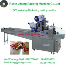 Gzb-250A High Speed Pillow-Type Automatic Chocolate Bar Wrapping Machine