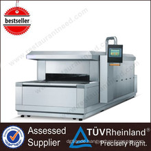 Professional Bakery Equipment Tunnel Type Single Gas Deck Oven