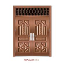Porta / porta de aço inoxidável / porta de entrada / filho e mãe (6630)