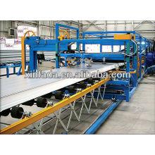 Linha de produção de painéis de sanduíche EPS de alta velocidade