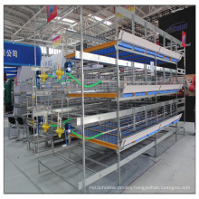 Galvanzied H Type Broiler Battery Cage Chicken Farm Poultry for Sell