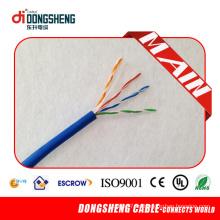 Cable de comunicación Cat5e ISO9001, SGS, ETL 305m