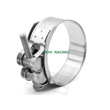HD Pipe Hose Clamp with Stainless Steel 73-79mm