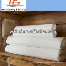 2015 en gros 200TC 100 tissu de coton pour les ensembles de literie