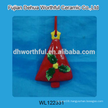 New ceramic christmas hanging tree for wholesale