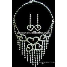 Latest bridal wedding jewelry set (GWJ12-475)