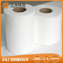 bambou organique spunlace non-tissé tissu bambou non-tissé rouleaux