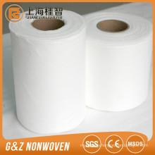 organic bamboo spunlace nonwoven fabric bamboo nonwoven rolls