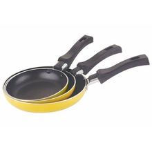 Hot Sale 3 PCS Nonstick Coated Aluminium Frying Pans Sets