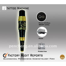 Profession Tattoo Machine Permanent Yellow dragon makeup pen