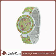 Colourful and fashion Alloy Wrist Watch