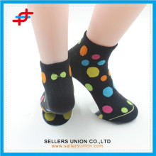 Colored stripe woman warm cozy tube socks wholesales