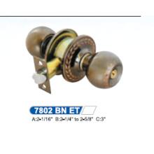 High Security Cylindrical Knob Door Lock