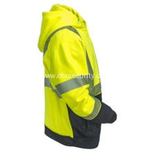 Hi-Viz Yellow Tech Double Thick Pullover Sweatshirt