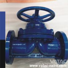Flansch Handrad Carbon Steel Weir Typ Membranventil