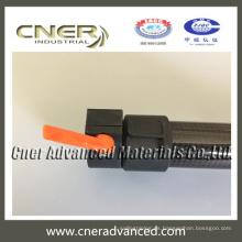 Paleta de kayak ajustable de fibra de carbono de dos piezas para la venta