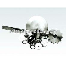 2013 heißer Verkauf Gummischneidemaschine Hochgeschwindigkeitsstahl längliche Klingen