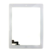 China Supplier Touch Glass for iPad 2 Screen Panel White