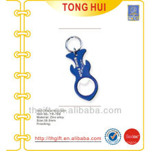 Custom King fish text logo keychains bottle openers metal