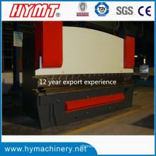 Máquina dobladora hidráulica de placas de acero con control Wc67y-200X4000 Nc