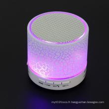 Haut-parleur Bluetooth sans fil économique de cadeau d'entreprise avec LED