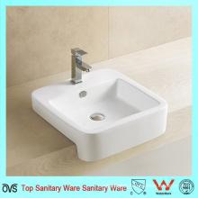 Manufacture Semi Square Counter Top Wash Basin
