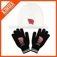 Sombreros y guantes calientes del invierno de la venta al por mayor de la venta