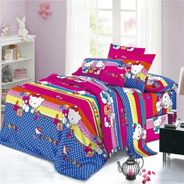 Текстиль 100% полиэстер с дисперсным принтом для постельного белья