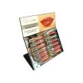 Acrylic Lip Gloss Display Rack Custom Showcase