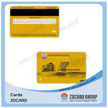 PVC Financial Cards Barcode Card Magnetic Card Finish Card