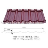 corrugated tile metal roof tile