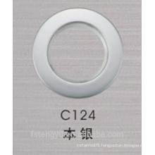 High quality curtain ring with round eyelets for curtain