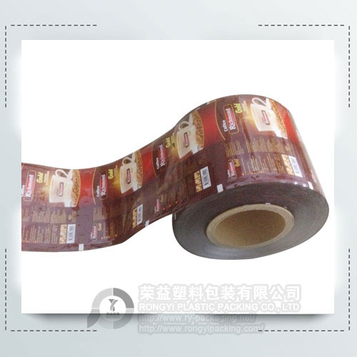 Custom Plastic Coffee Roll Film