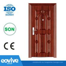 Puerta de acero de la puerta Eovive puerta seguridad blindada