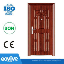 Porta de aço porta de segurança de segurança de porta Eovive