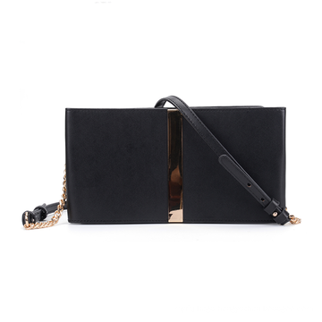 HEC New Design Black PU Material Credit Card Wallet For Women