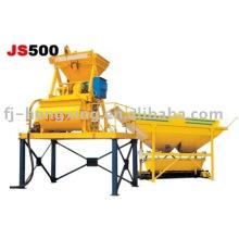 Double-Axle Concrete Mixers (JS500)