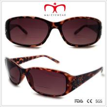 Plástico strass lente bifocal óculos de leitura dom (wsp508310bf)