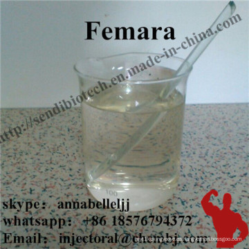 Polvo de esteroides anti-estrógeno Femara Letrozol para el tratamiento del cáncer de mama 112809-51-5