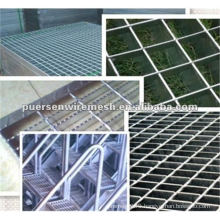 galvanized plain walkway steel grating