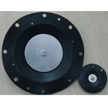 Sealed silicone rubber diaphragm