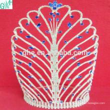 Super belle couronne Diamant artificiel Couronne de mode