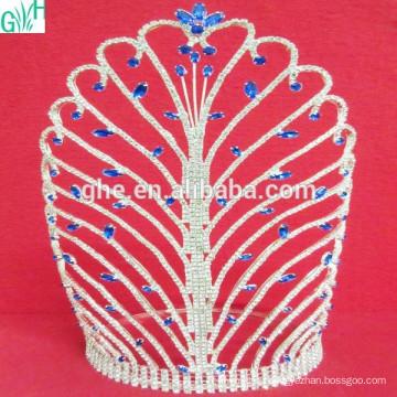 Супер красивая корона Искусственный бриллиант Модная корона