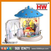 Casa de boneca de madeira boa qualidade modelo