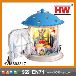 Good Quality model wooden doll house