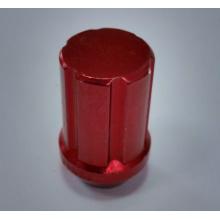 aluminiowy czerwony kolor elektroforezy koło orzechy lug
