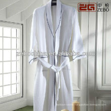 100% cotton print cheap luxury velour men women bathrobes for hotel
