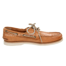 Young Fashion Men Genuine Leather Boat Shoes