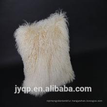 2018 Real Lamb Fur Mongolian Lamb Fur Cushion Cover