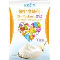 Cultivo probiótico de yogur vegetariano sano